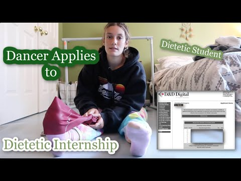 Ballerina Applies to Dietetic Internship | Day in the Life