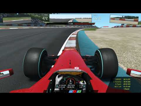 RFactor 2 : F1 2009 . Nurburgring (Laser Scanned) . Kimi Raikkonen With Ai 100% . T500rs + F1 Add On