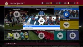 Pro Evolution Soccer 2016 myClub 2 Bölüm Top Acılımı Part 2