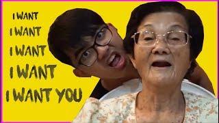 Nenek dan Cucu Menari I Am Me - Dato Seri Vida | PARODY