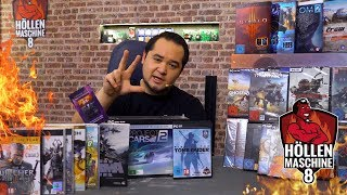 Games für 2000 Euro: Die DREI Spiele-Pakete der Höllenmaschine 8 | #Gaming-PC