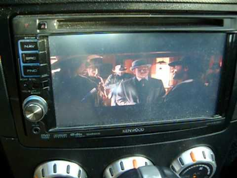 Kenwood DNX5120 Car Receiver Video on
