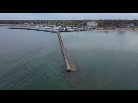 Port Elgin Ontario Filmed With DJI Mavic 2 Pro