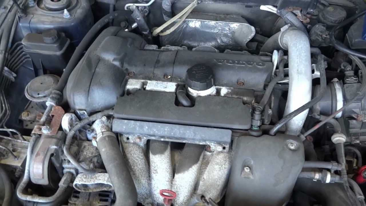 2004 Volvo S40 engine with 96k miles - YouTube