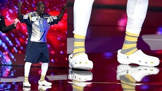 Stephen Curry's Shoes Blasted By Hannibal Buress at ESPY Awards, Shows Steph Curry 34s