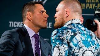UFC 197: Conor McGregor vs. Rafael dos Anjos Staredown