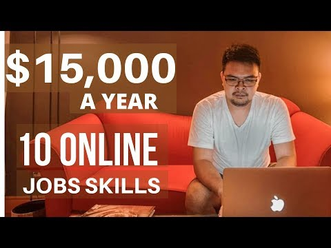 Top 10 Online Jobs Skills for Beginners and Earn $3 to $50/Hr (2020)