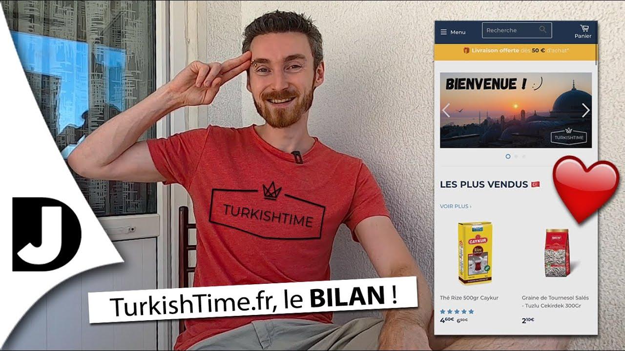 Que devient ma boutique en ligne de produits turcs, TurkishTime.fr ? 😃 🇹🇷
