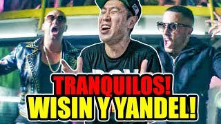 Yandel Como Antes ft Wisin REACCION Coreano Loco