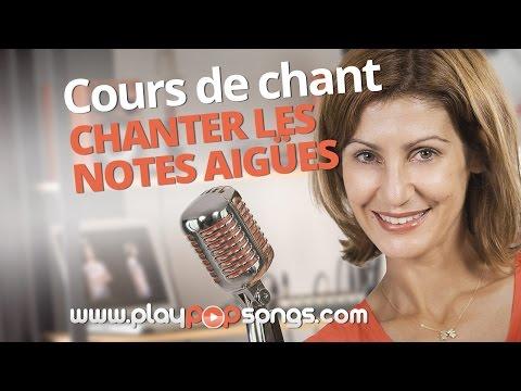 COMMENT CHANTER LES NOTES AIGUËS - COURS DE CHANT