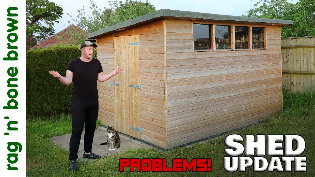 4x Problems With My Handmade Shed: One Year Update