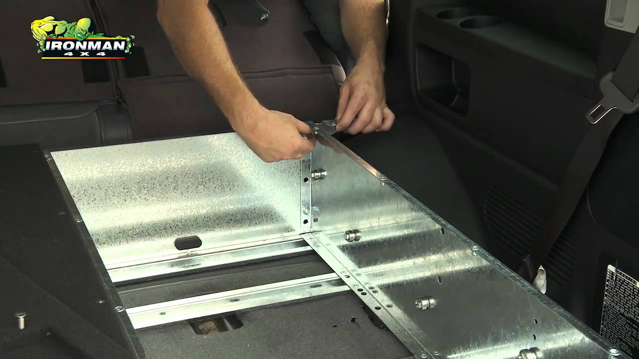 How To Install Ironman 4x4 Drawer System Youtube