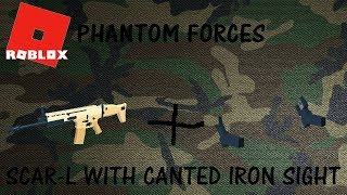 Roblox | Phantom Forces | Canted Iron Sight on Scarl L!