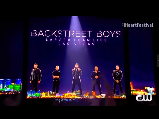 El regreso de los Backstreet Boys en el iHeartRadio Festival 2016