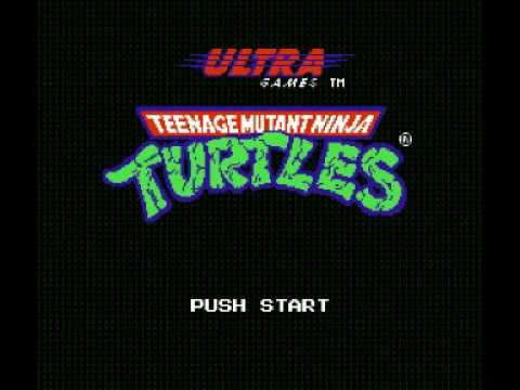 Teenage Mutant Ninja Turtles (NES) Music - Stage Theme 1