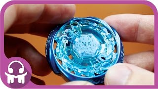 ASMR | Metal Fight Beyblade | Burn Phoenix 90WF (Ice Blue)