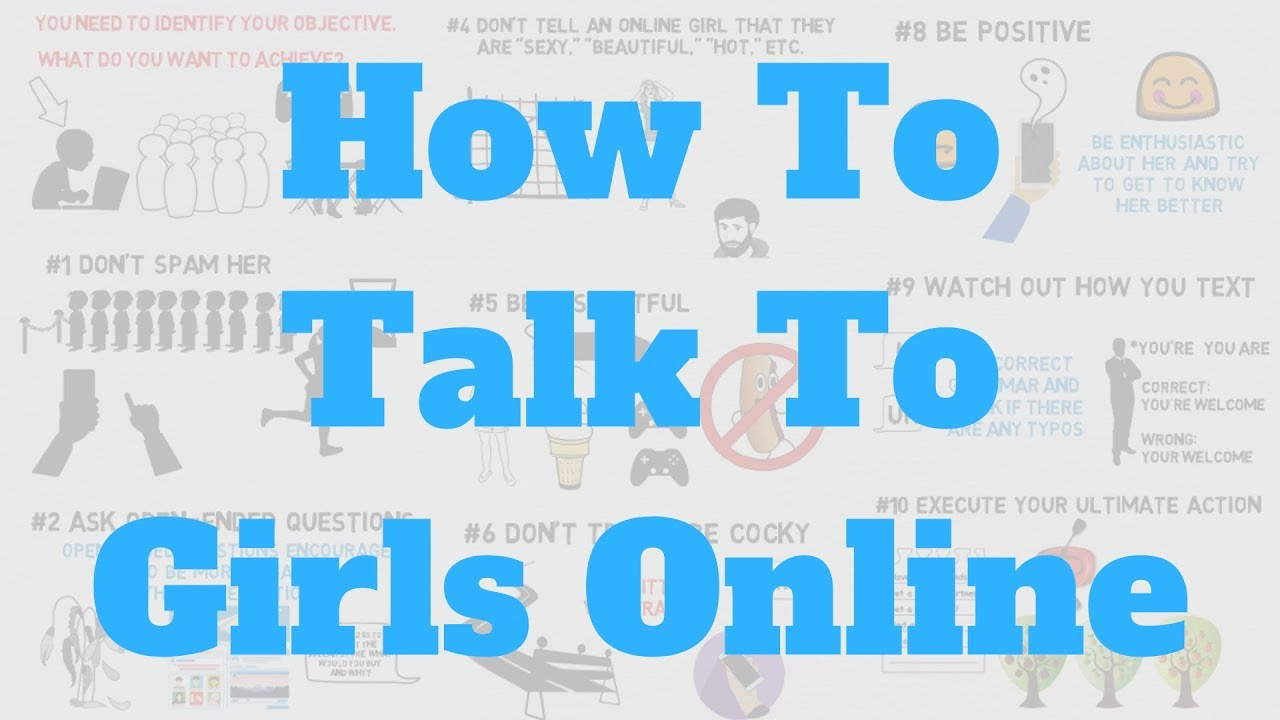 what to talk about with a girl online