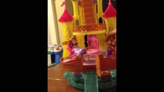 (美國玩具介紹)迪士尼小公主蘇菲亞海洋皇宮/水上城堡 Sofia the First 2 in 1 sea palaces
