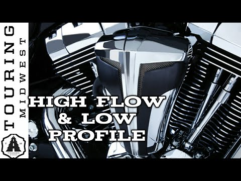 High Flow Air Cleaner For Harley Davidson | Ciro3d