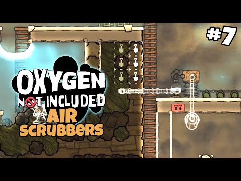 Air Scrubber System & A New Bedroom - Oxygen Not Included Gameplay - Part 7