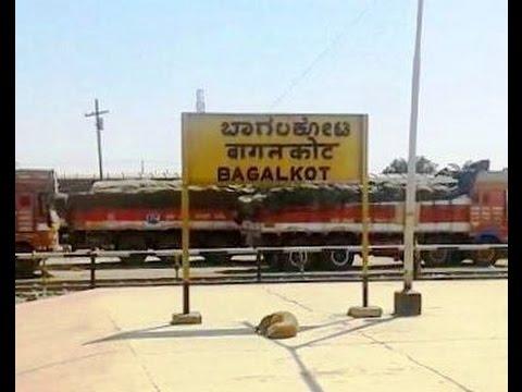 Arriving at Bagalkot onboard 14806 Barmer YPR AC Express