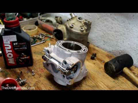 How to install KTM 300 KIT - Top End Rebuild