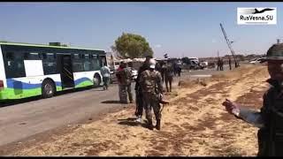 Syria War Video /  Военные РФ и Сирии изгоняют боевиков из региона на границе с Израилем