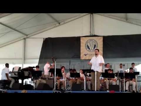 URI Big Band At 2014 Newport Jazz Festival