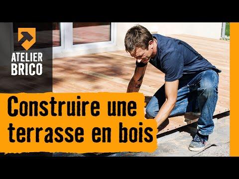 Construire une terrasse en bois - Atelier brico HORNBACH