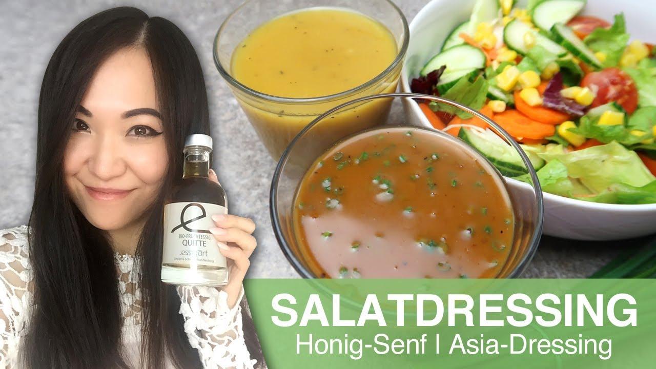 rezept salatdressing honig senf asia erdnussso e dressing youtube. Black Bedroom Furniture Sets. Home Design Ideas