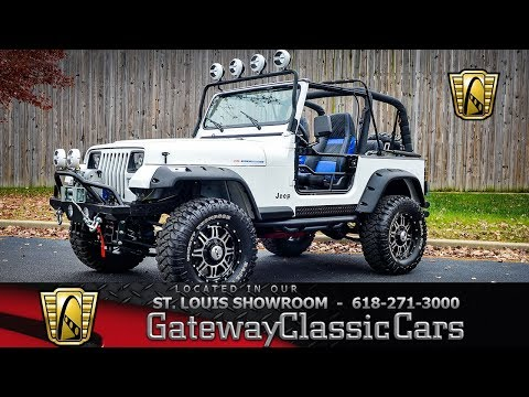 For Sale: 1993 Jeep Wrangler in O'Fallon, Illinois