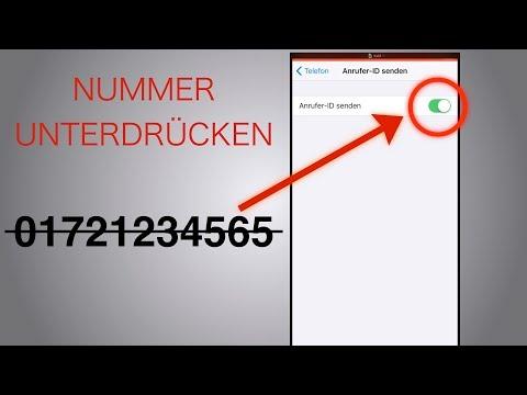 IPhone Rufnummer Unterdrücken!