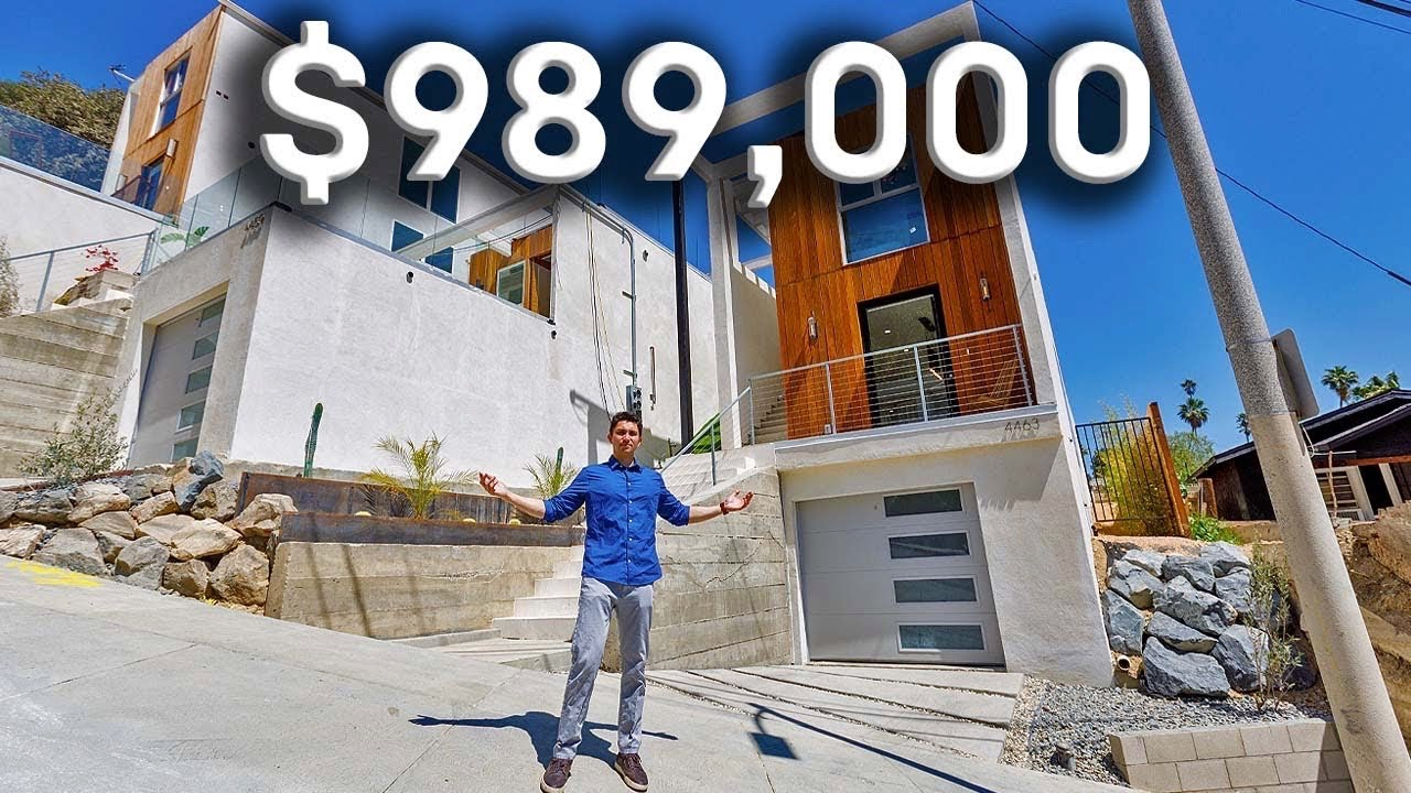 Under $1 MILLION for these NEWLY BUILT Modern Homes in Los Angeles!