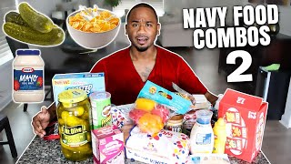 WEIRD FOOD COMBOS (US NAVY EDITION) PT 2 | Alonzo Lerone