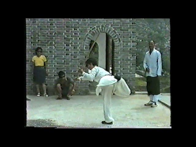 Sifu Walter Toch on training with SHI YONG SHOU 33e gen  Monks in Song Shan 1987