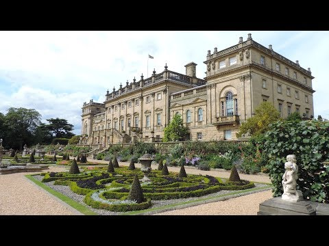 Harewood House and  Italianate Terrace ... Part One