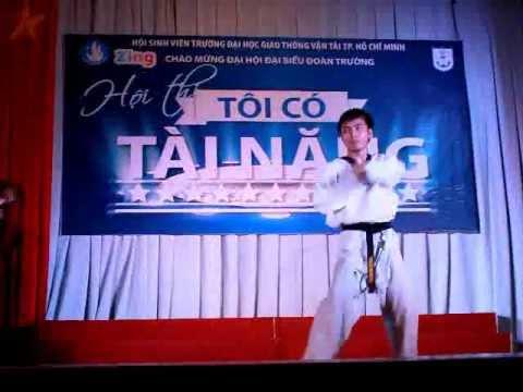 Mua vo Taekwondo tren nen nhac K-Pop.flv