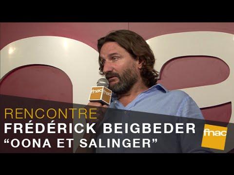 """Rencontre avec Frédéric Beigbeder pour """"Oona et Salinger"""" à la Fnac Montparnasse"""