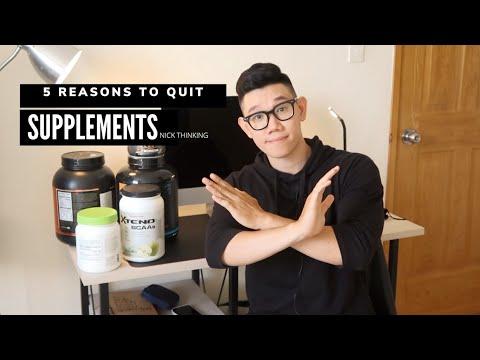 #6   Vì sao mình không sử dụng Thực phẩm bổ sung khi tập gym? | 5 Reasons to quit supplements
