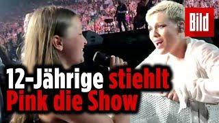 12-Jährige stiehlt Pink die Show – Beim Konzert in Vancouver
