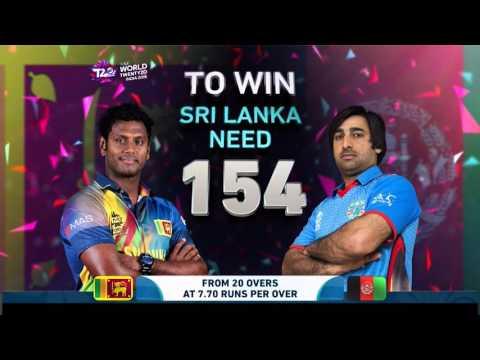 ICC #WT20 Sri Lanka v Afghanistan Cricket Match Highlights