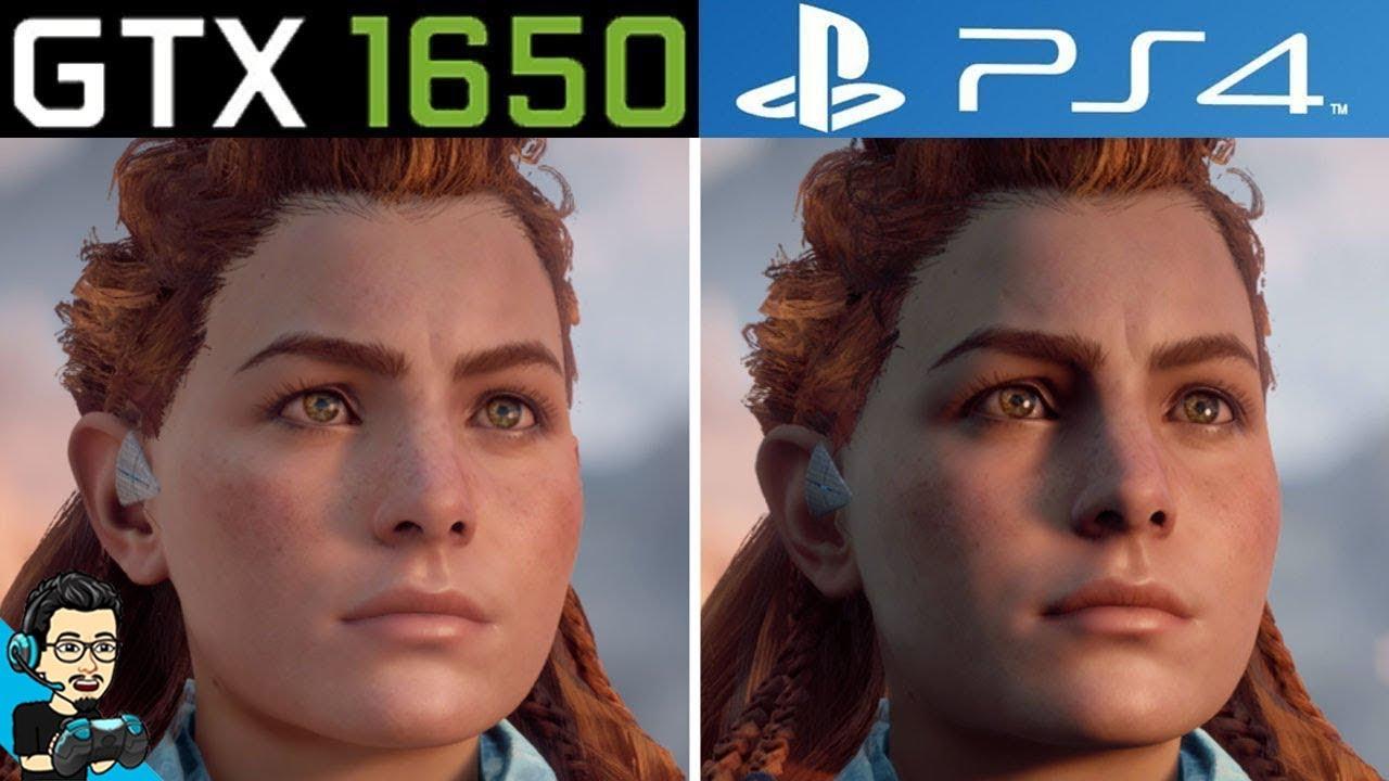 Horizon Zero Dawn - PC v/s PS4 - Graphics Comparison (GTX ...