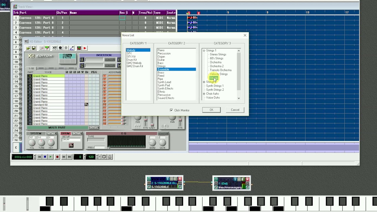 Yamaha S-YXG2006LE Exclusive Sounds