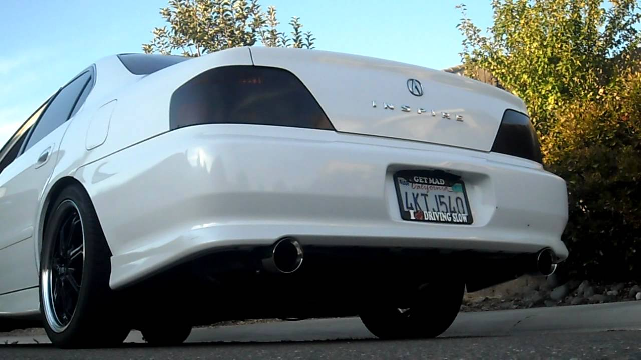 Acura TL Exhaust YouTube - Acura tl exhaust system