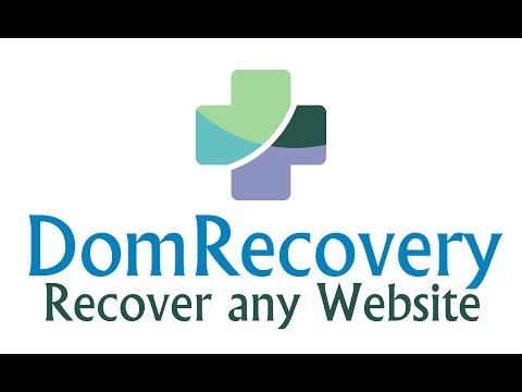 DomRecovery - Recover any Website from Wayback Machine