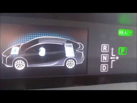 2017 Prius Drive Modes And Shift Lever