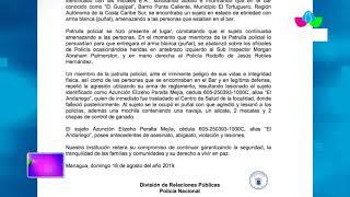 Multinoticias | Fallece delincuente en actuación policial en El Tortuguero