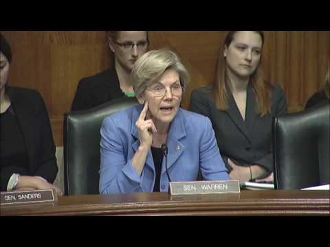 Senator Warren Asks About Generic Drug Prices & FDA Oversight