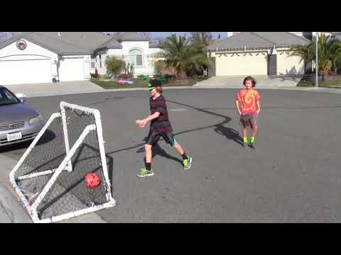 How to make a soccer goal in 30 minutes for $30; Portable, Durable and Safe!!