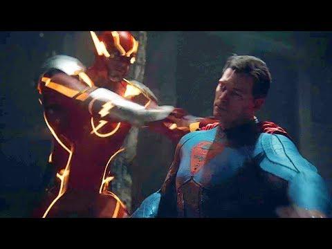 EVIL Justice League Vs Justice League Fight Scene FULL BATTLE Part 2  - Injustice 2